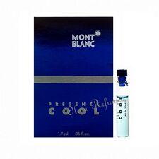Mont Blanc Presence Cool for Men Eau de Toilette Vial Sample 0.06oz 1.7ml