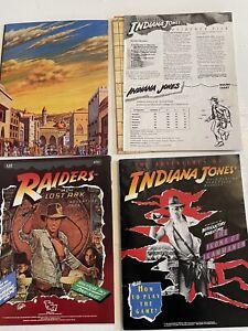 Vintage 1984 The Adventures of Indiana Jones RPG + Extras NO BOX TSR