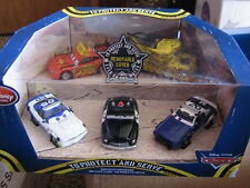 DISNEY CARS DISNEY STORE 5-PACK TO PROTECT AND SERVE SET