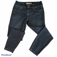 Torrid Button Zip Fly High Rise Jegging Skinny Jean Dark Wash Size 10