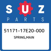 51171-17E20-000 Suzuki Spring,main 5117117E20000, New Genuine OEM Part