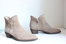 c2d16f0eef5232 Nobrand Trendy Elegante Stiefeletten Boots Wildleder Braun-Beigetöne Eu 41 -TOP