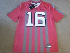 Ohio State Buckeyes Nike 2016 Throwback Football Jersey 16 Music & Canon Fire XL