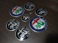 Kit completo loghi Nuovi Giulia Stelvio Alfa Romeo MiTo 147 GT 156 CONSEGNA 48H