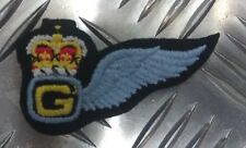 British Army Military RGZ6 Arm Titles Blue Air Training Corps Badge//Patch