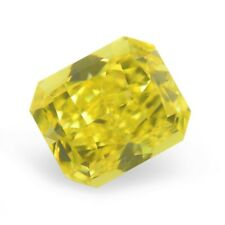 Yellow Diamond  - 1.53ct Natural Loose Fancy Vivid Yellow Canary GIA VS1 Radiant
