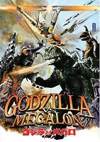 Godzilla Vs. Megalon  NEW DVD