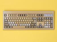 Vintage Lite-On SK-1100CW PS/2 104-Key Membrane Computer Keyboard