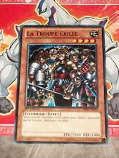 Carte YU GI OH LA TROUPE EXILEE BP01-FR059 x 3