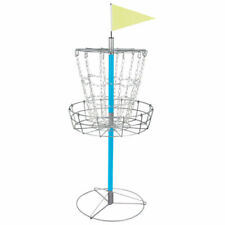 Disc Golf Goal Basket Practice Frisbee Game Target Cross Chain Outdoor Portable