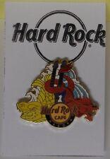 Hard Rock Cafe Pin City Logo Guitar with Daragon & Shachihoko Nagoya 2010