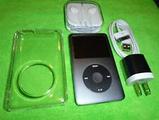 Apple iPod classic 7th Gen Grey (SSD512GB) + extras! MC297L excellent condition