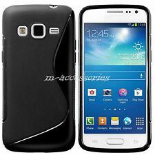 BLACK S-LINE GEL CASE COVER SKIN FOR SAMSUNG GALAXY EXPRESS 2 SM-G3815