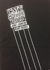 Jamey Johnson Randy Houser Cmt On Tour 2009 Large Black T Shirt Concert Rare New