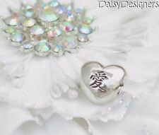 NEW Authentic PANDORA Sterling Silver CHINESE AI HEART Love Charm 791192 RETIRED