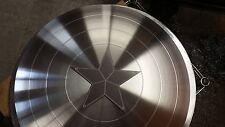 "Captain America Shield Blank and Star 24"" Aluminum metal"