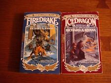 Richard A. Knaak - The Dragonrealm: Firedrake/Ice Dragon PB 1st printings