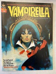 VAMPIRELLA # 18 . Original Bronze Age 1972  issue Warren Magazine