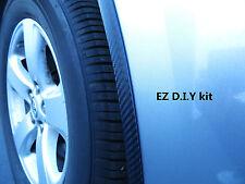 CARBON FIBER WHEEL WELL FENDER TRIM MOLDING 4PC W/5YR WARRANTY for VW models