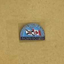 INTERNATIONAL GATHERING OF THE  CLANCE 1987 NOVA SCOTIA CANADA OLD LAPEL PIN