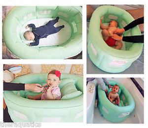 Portable BATHINET PlayPen Tub Bassinet Portable Feeding Chair Inflatable Bath