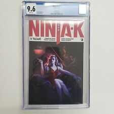 Valiant Comics Ninja K 2 Variant Cover CGC 9.6 White Pages