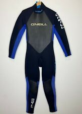 O'Neill Mens Full Wetsuit Size Large L 3/2 Black Blue