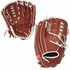 Rawlings R9 Softball Series 12.5 Inch R9SB125-18DB Fastpitch Softball Glove