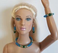 "MINT MIX Handmade Jewelry Set for 16"" Fashion Dolls Tyler Cami Gene Alex d4e"