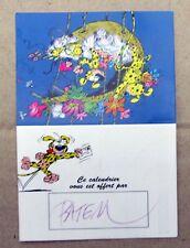 PETIT CALENDRIER OFFERT PAR BATEM SIGNE 1996 TTBE