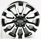 Chevy Silverado Suburban Black Machined Replica At4 18wheels Rim Lugs Freeship