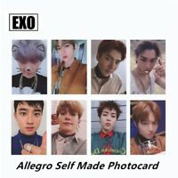 K-POP EXO DON'T MESS UP MY TEMPO Album Self Made Paper Lomo Card Photo Card Gift