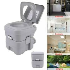 Portable Toilet Outdoor Camping Load 130kg Adult Mobile Toilet Camping 20Ltr