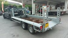 2011 BOLLE FIFTH WHEEL GALVANISED TWIN WHEEL CAR/PLANT TRAILER, EXCELLENT