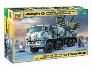 "Zvezda 3698 Russian Anti-Aircraft System Pantsir-S1 ""SA-22 GREYHOUND"" 1/35"