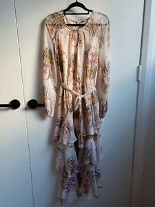 Sheike Floral Tiered Maxi Dress Size 12