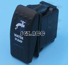 WATER PUMP Rocker Switch Carling ARB Narva Style BLUE LED Heaps of Designs