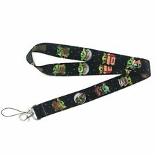 The Mandalorian Cute Baby Yoda Star Wars Lanyard Neck Strap ID Holder Gift