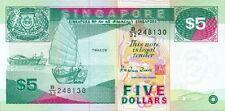 Singapore P35 5 dollars (1997) UNC