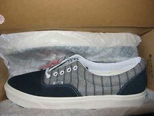 Vans x MLB NY New York Yankees Mens Wool Era Shoes Blue Night Gray Pinstripe