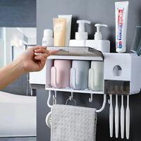 Porte brosse à dents organisateur étagère de douche Accessoires de salle de bain