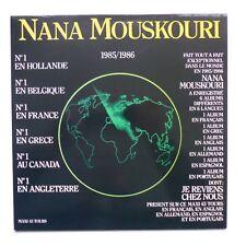 "MAXI 12"" 6 titres NANA MOUSKOURI Je reviens chez nous 6863287 France RARE !! rrt"