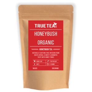 Honeybush Natural Organic Tea (No.620) - Loose Leaf Honeybush Tea - True Tea Co.