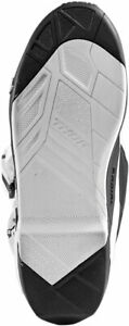 Thor MX Replacement Outsole Inserts for Radial Boots (Black/White) 7-8