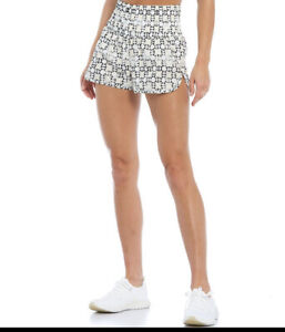 Free People FP Movement Printed Way Home Shorts Size Large BNWTS Trance Print