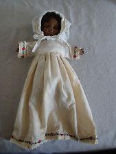VTG Horsman Dolls Inc 1968 13 inch Plastic African American Baby Doll  81715