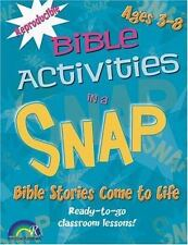 Bible Activities in a Snap: Bible Stories Come to Life