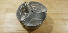 Vintage Pressure Cooker Triple / Three Way Steamer / Strainer Baskets