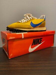 VTG RARE 1979 Nike LDV Waffle Runner! New In Box! Yellow/Blue! Size 6! Korea!