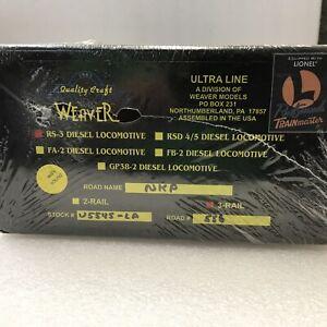 Weaver ultra Line RS-3 Diesel locomotive Nickel plate road O scale 3 Rail